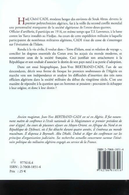 Chérif Cadi livre JYBC 4e couv