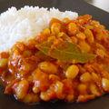 Curry de haricots blancs façon rougail