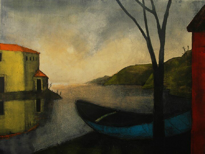 Treacy Ziegler - In a Small Blue Boat