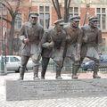 monument à l'honneur de Pilsudski