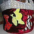 panier de rangement dinosaures dragons en tissu, fabric dinosaurs dragons storage basket (3)