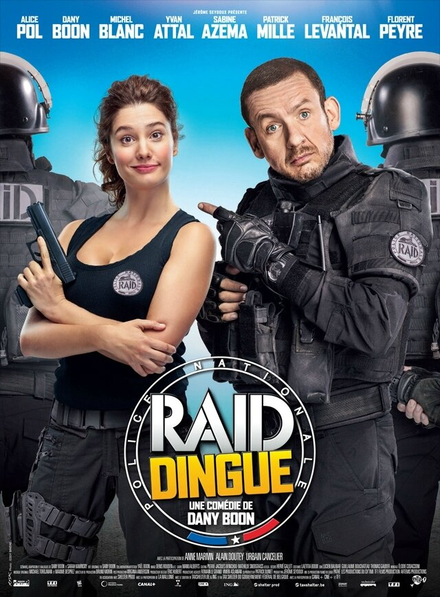 Raid dingue, de Dany Boon (2017)