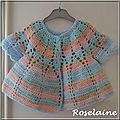 Roselaine 99 brassière ajourée crochet