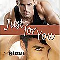Just for you - tome 1 - séisme de lily b. north