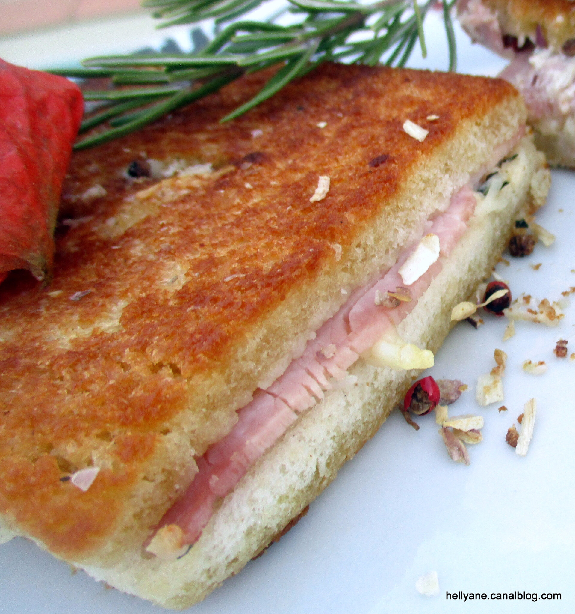 recette croque monsieur sandwich cuisson a la po le blogs de cuisine. Black Bedroom Furniture Sets. Home Design Ideas