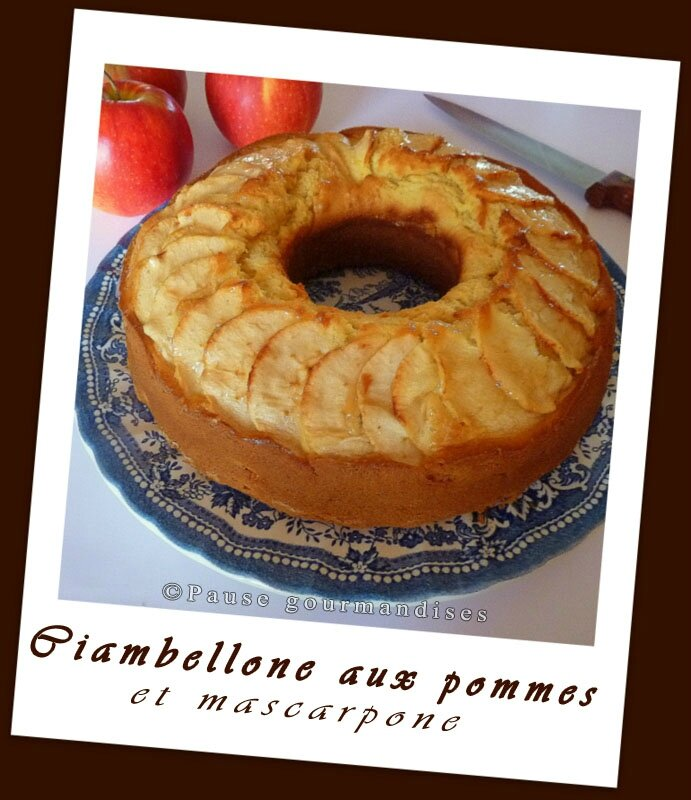 Ciambellone aux pommes (34)