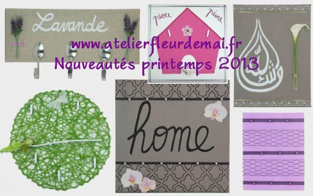 Atelier Fleur de Mai Printemps 2013