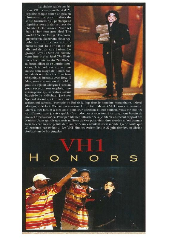 vh1 honors