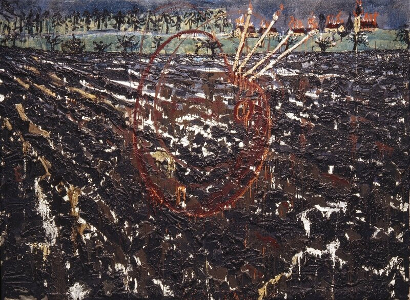 Anselm Kiefer_Nero malt