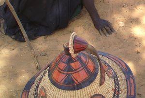 chapeau tabatière peul MALI
