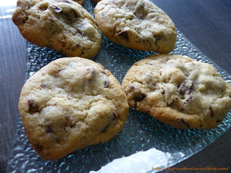 Cookies US gourmands et épais aux pépites de chocolat (60)