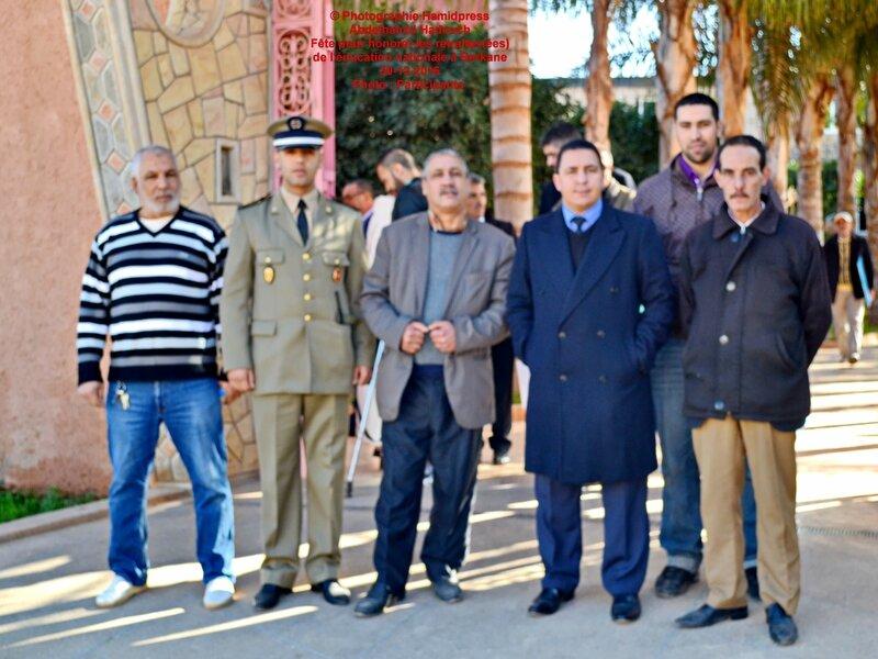 Fête pour honorer des retraités(ées) de l'éducation nationale à Berkane 30-12-2016 (33)