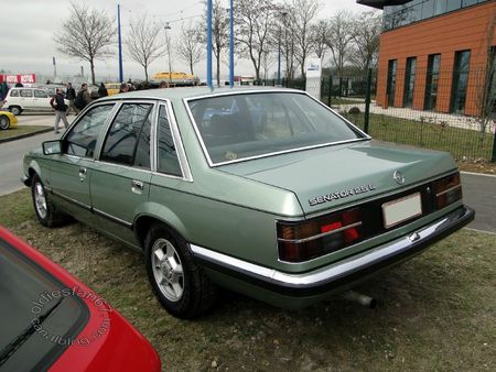 opel senator a1 2,5 e 1978 1982 salon champenois vehicules de collection reims 2012 2
