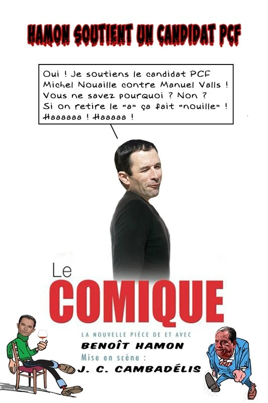 hamon-le-comique-piece-bulles