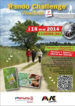 Flyer 2e Rando Challenge en Vaucluse - recto