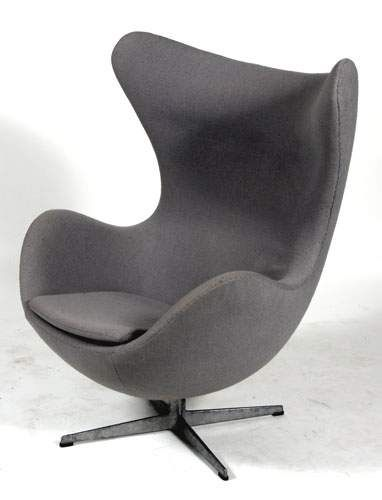 Arne jacobsen 1902 1971 fauteuil quot egg chair quot alain for Fauteuil jacobsen