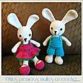 Jules et julie les lapins amoureux