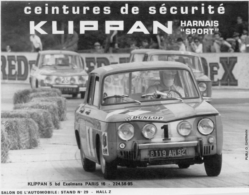 Pub 20r8 20gord1 Photo De Coupe R8 Gordini Noir Et