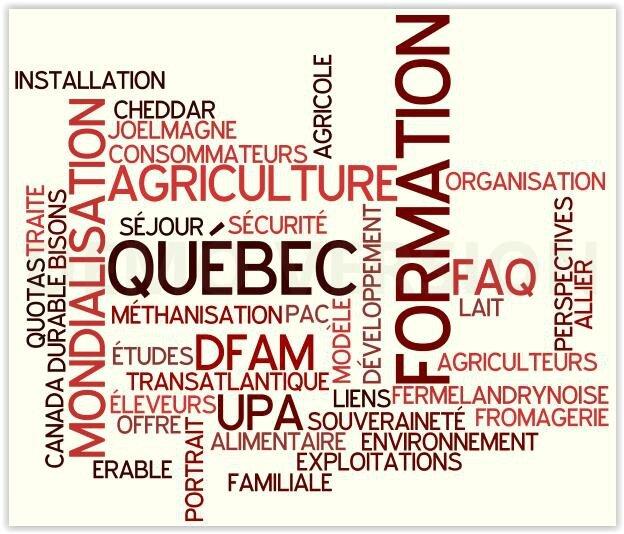 Dernière journée de formation L'agriculture au Québec Tronget 29 septembre 2016 à 13 h 30