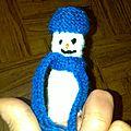 Le bonhomme de neige de Cathy