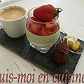 Cuillère gourmande citron, speculoos & chantilly (idée café gourmand)