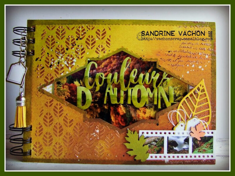 Sandrine VACHON mini album PS70 (1)