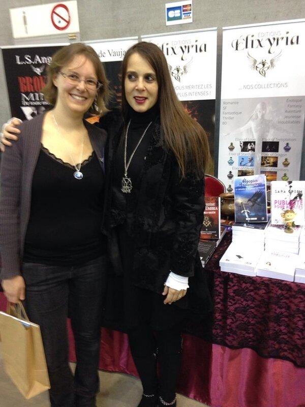 Sara Greem et moi