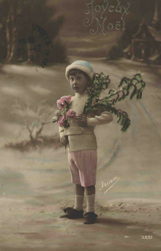 Carte ancienne noel 1920 photo de h cartes anciennes 32 bienvenue chez marinette - Cartes de noel anciennes ...