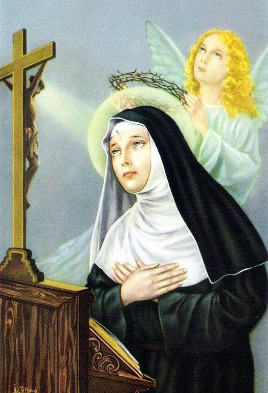 Extrêmement Les 15 jeudis de Sainte Rita 11/15 - images saintes UD06