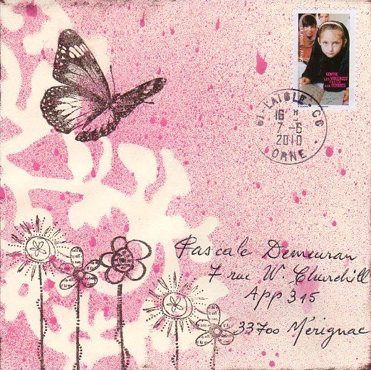 Mailart de Chantal Esteban 010