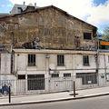 Les frigos, l'atelier de stéphane gérard, dans le 13eme arrondissement, du coté de la bnf
