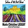 Exposition au lavadou dreem street gallery (var) cote d'azur