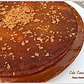 Cake caramel pecan de christophe michalak