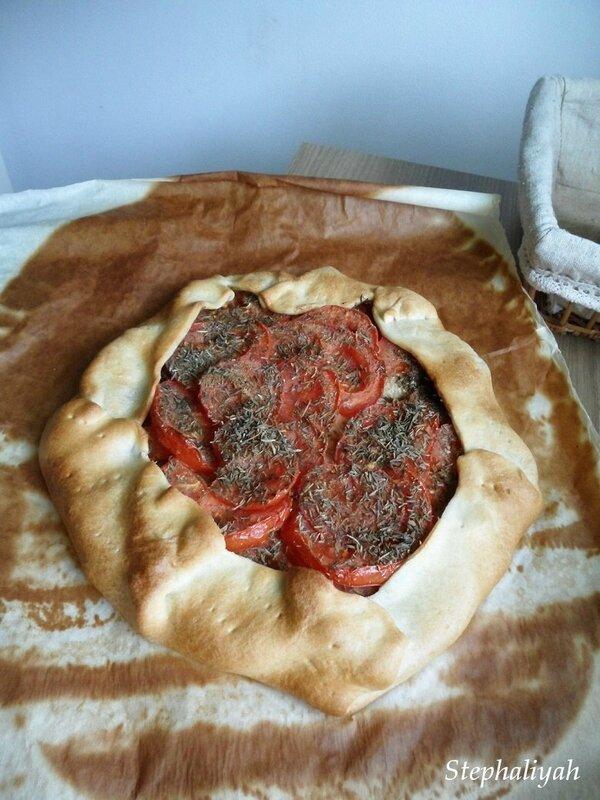 Tarte tomates et thon - 4