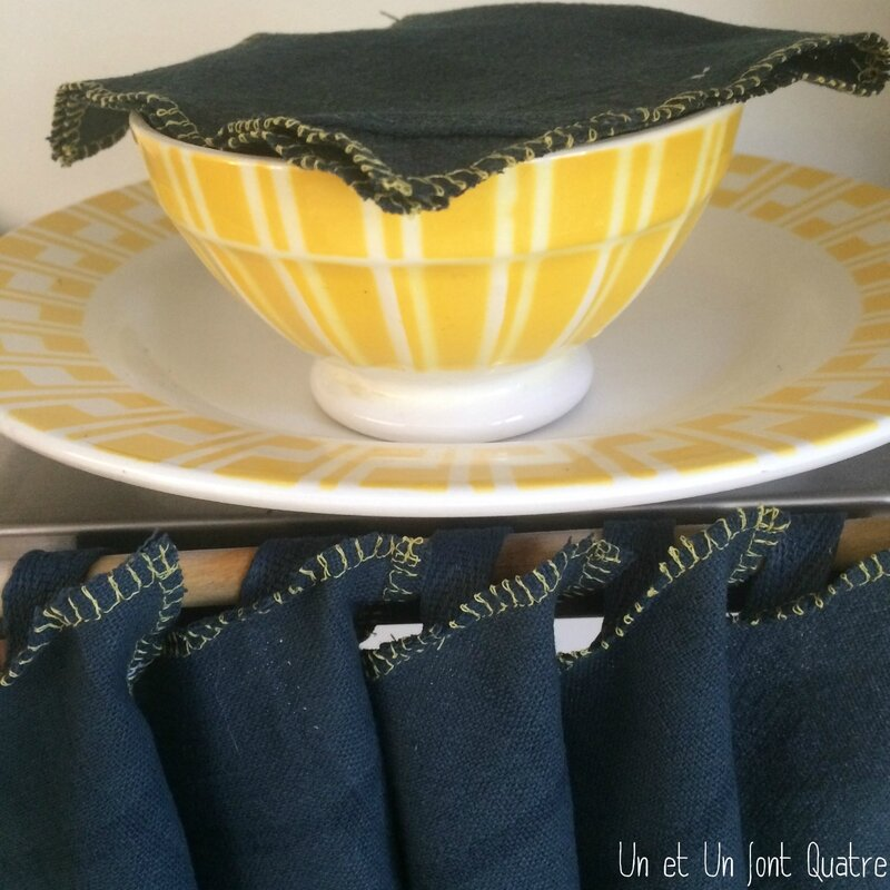 Linge de table teint (3)