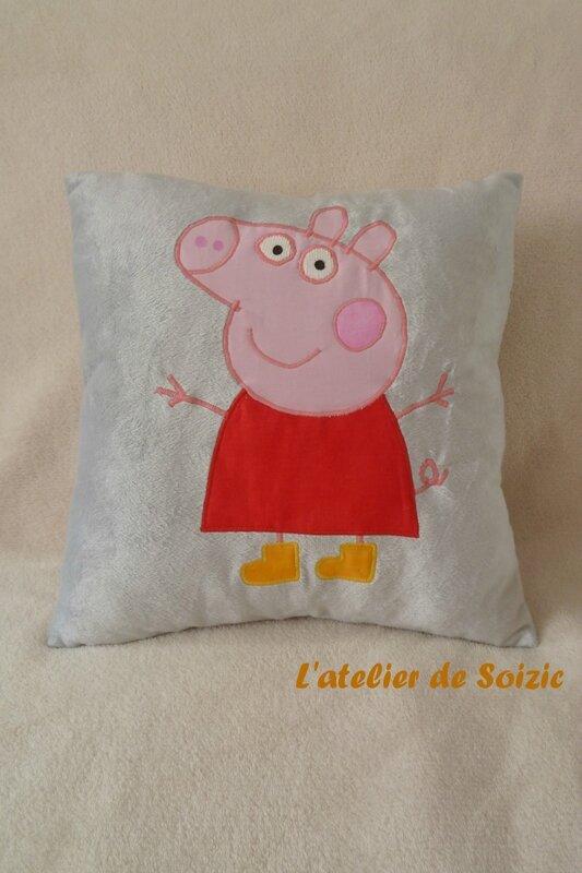 Coussin Peppa Mathilde