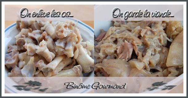 Pieds de porc en rouleaux bin me gourmand - Cuisiner des pieds de porc ...