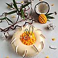 Tarte mango/coco