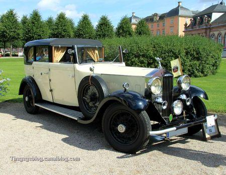 Rolls royce 20-25 open drive de 1932 (9ème Classic Gala de Schwetzingen 2011) 01