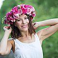 Des sourires et des fleurs