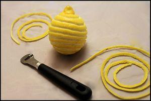Citron cannelé