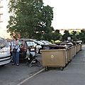 chronique des ordures ménagère de la résidence