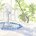 Fontaine Riad Sahara Nour