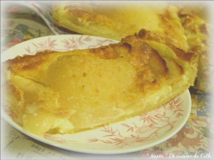 tarte feuilletée aux poires et pommes3