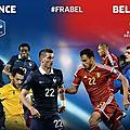 Match france - belgique - dimanche 13 août 2017 après 16h