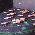Et de 5 flottes pour les rois de l'espace.