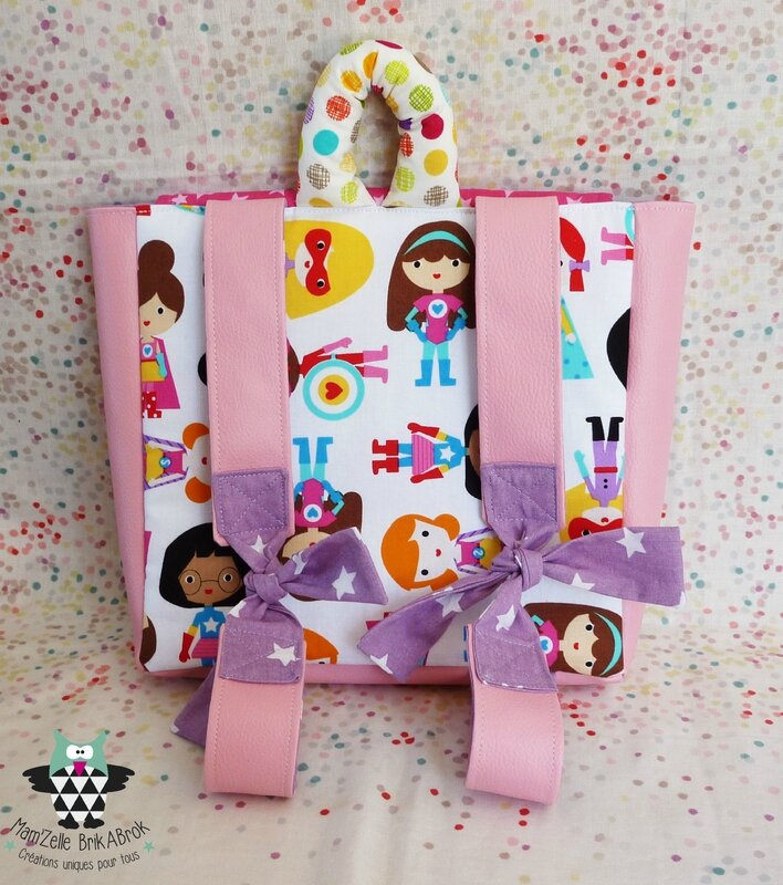 Sac Maternelle ASTREE verso