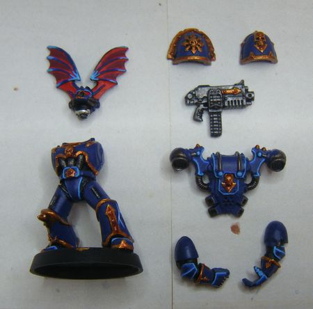 Peindre les Night Lords 16