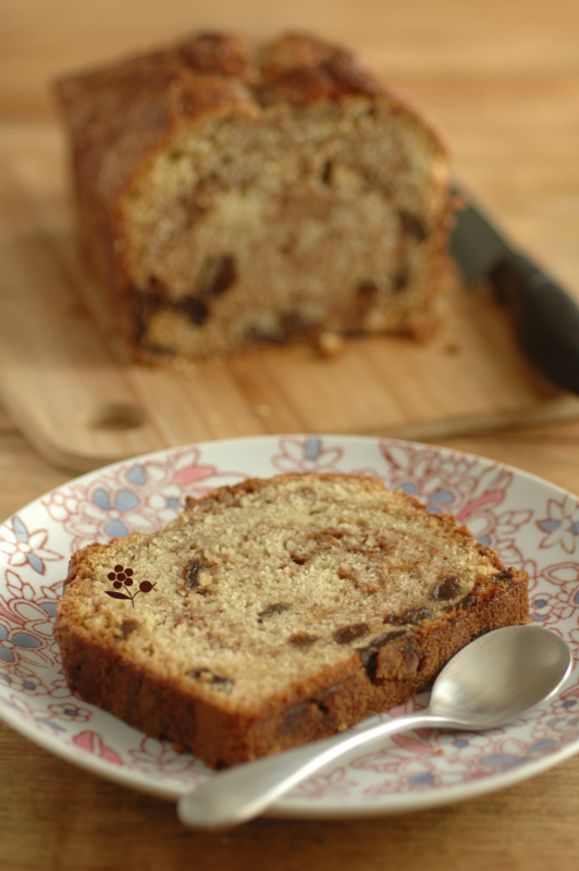 Cake aux raisins & tourbillon de cannelle_10