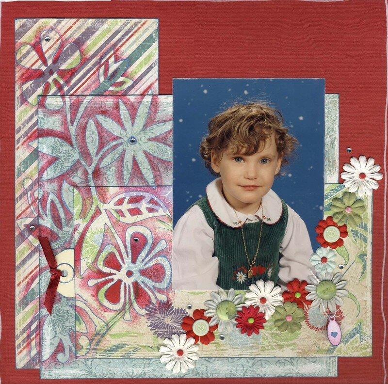 Florine 1ère photo de classe x